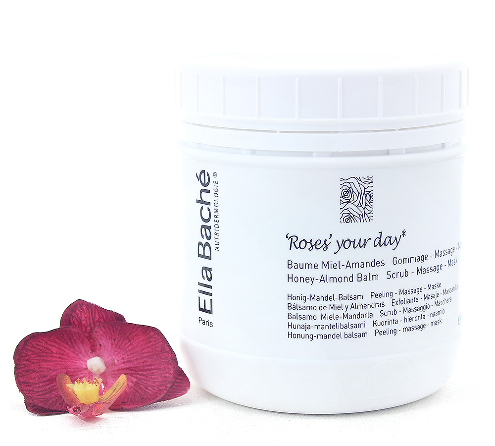 KE18016 Ella Bache Roses Your Day - Honey Almond Balm Scrub Massage Mask 400ml