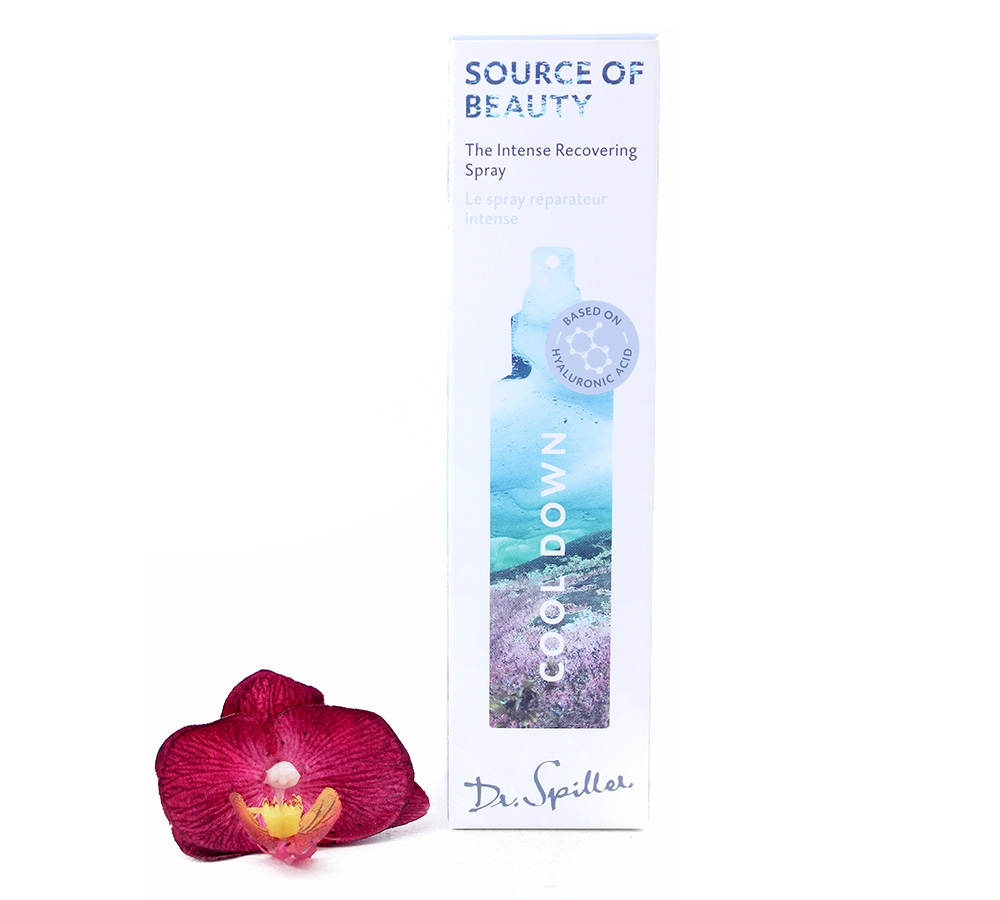126220 Dr. Spiller Source Of Beauty - Cool Down Intense Recovering Spray 100ml