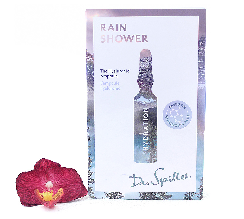 17155 Dr. Spiller Hydration - Rain Shower The Hyaluronic+ Ampoule 7x2ml