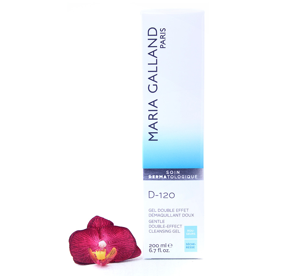 19001181-1 Maria Galland D-120 Gentle Double Effect Cleansing Gel 200ml