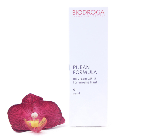 43752-510x459 Biodroga Puran Formula - BB Cream SPF15 For Impure Skin 01 Sand Touch 40ml