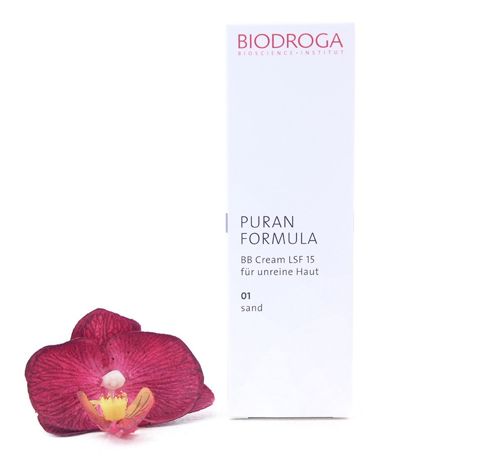 43752 Biodroga Puran Formula - BB Cream SPF15 For Impure Skin 01 Sand Touch 40ml