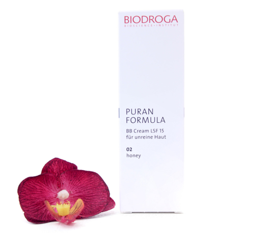 43753-510x459 Biodroga Puran Formula - BB Cream SPF15 For Impure Skin 02 Honey Touch 40ml
