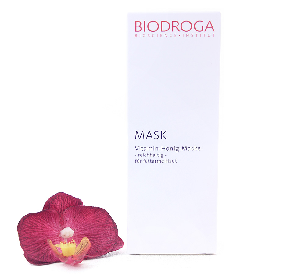 45303 Biodroga Mask - Vitamin Honey Mask Rich 50ml