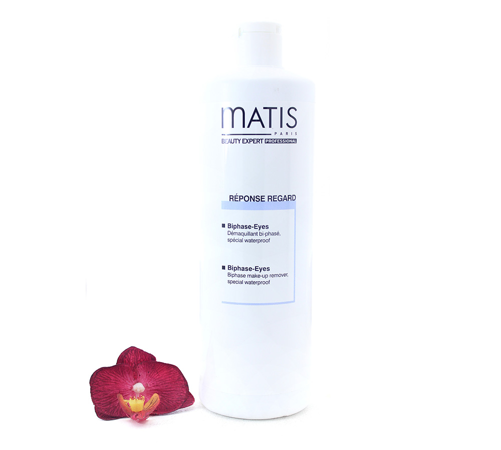 57550 Matis Reponse Regard - Biphase Eyes Make-Up Remover 500ml