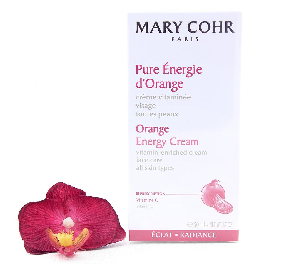 857280-1 Mary Cohr Orange Energy Cream - Vitamin-Enriched Face Care 50ml