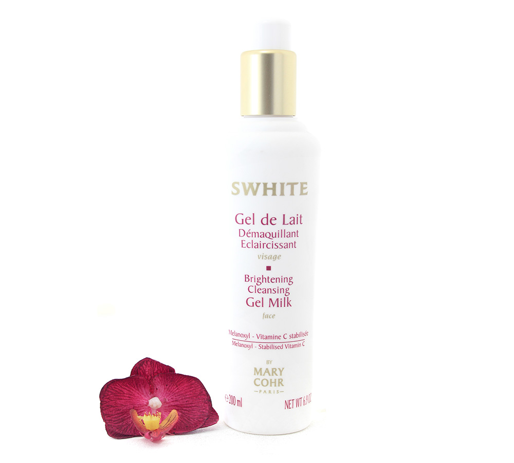 891400 Mary Cohr Swhite - Brightening Cleansing Gel Milk 200ml
