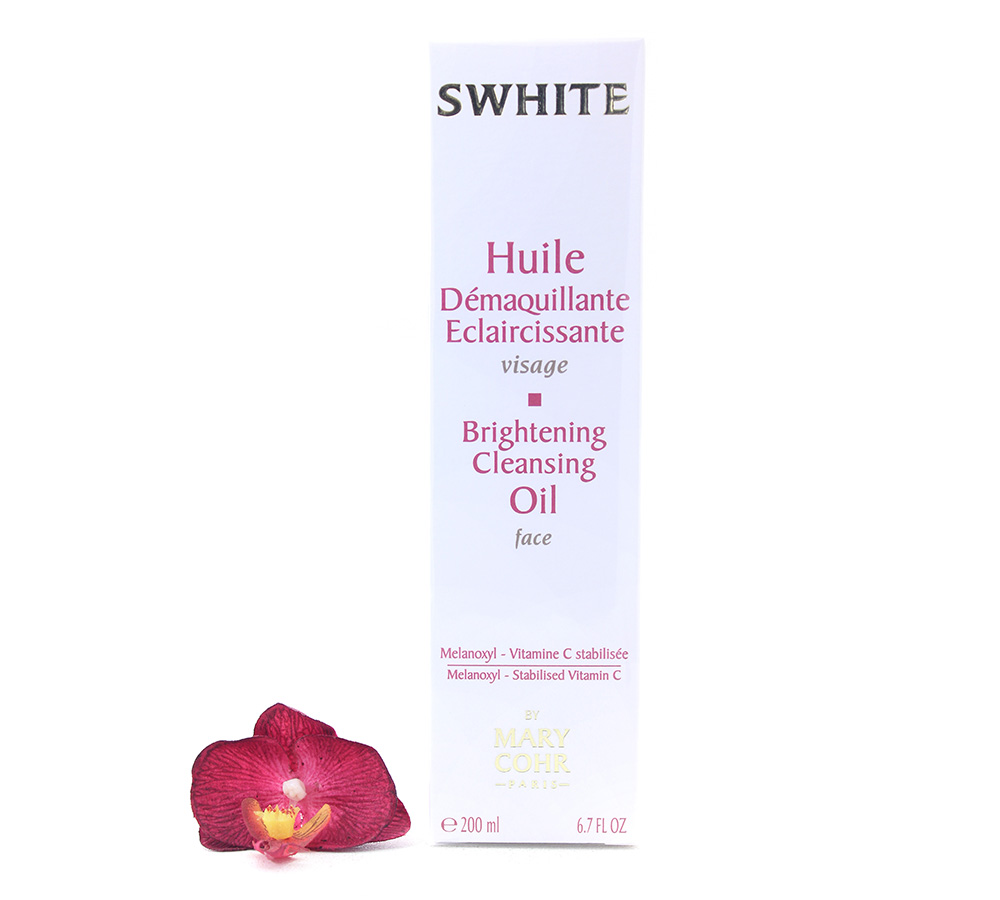 891420 Mary Cohr Swhite - Brightening Cleansing Oil 200ml