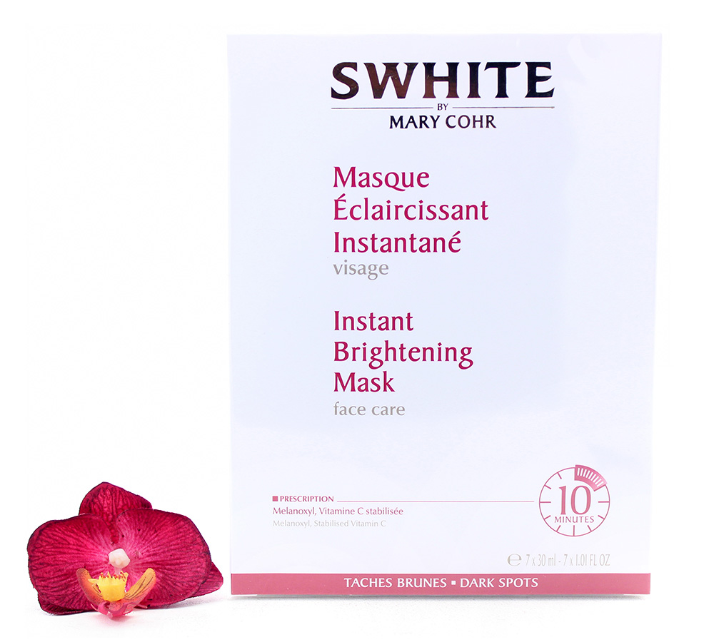 891450 Mary Cohr Swhite - Instant Brightening Mask 7x30ml