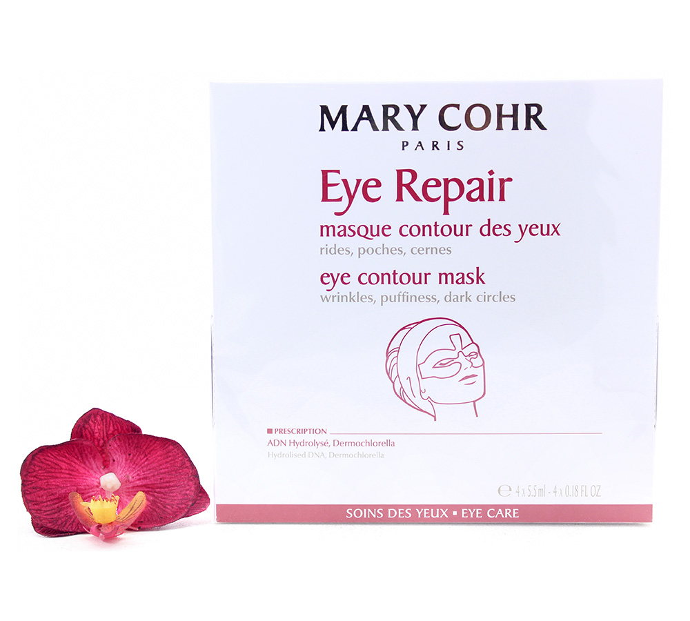 892870 Mary Cohr Eye Repair - Eye Contour Mask 4x5.5ml