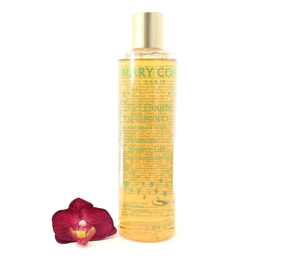 894311 Mary Cohr Essences Shower Gel - Energising Body Care 300ml