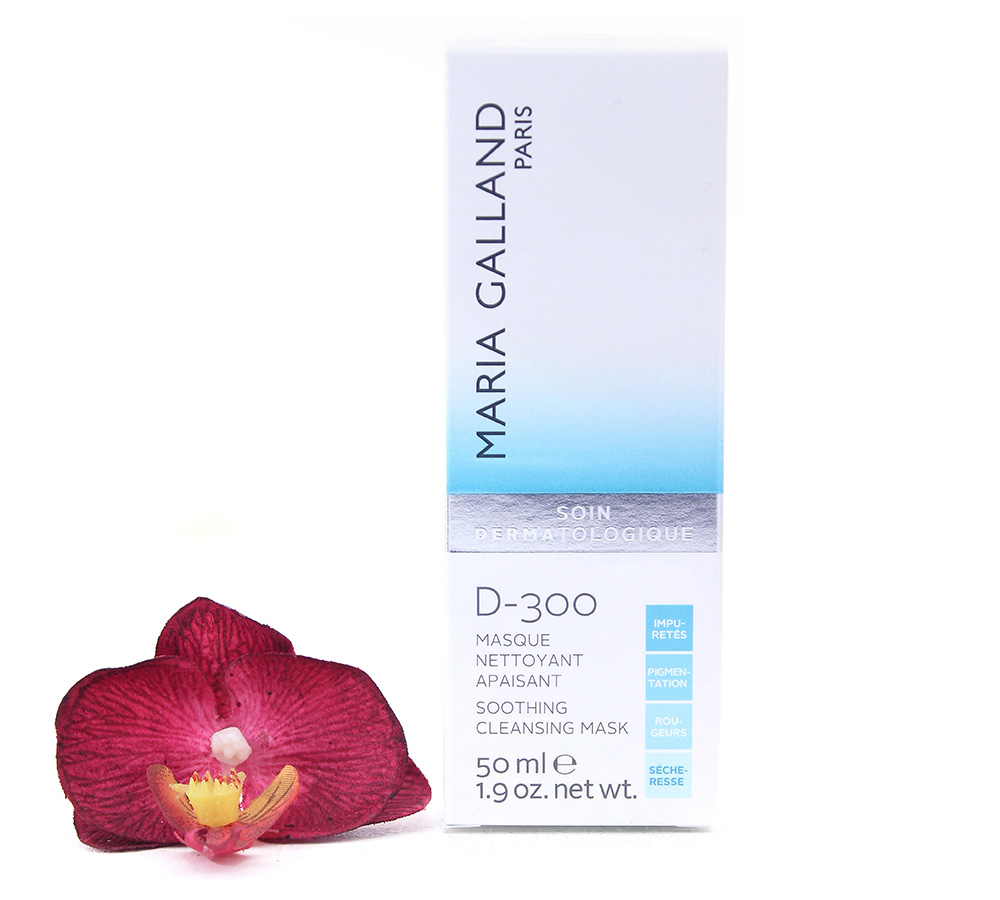 19001201 Maria Galland D-300 Soothing Cleansing Mask 50ml