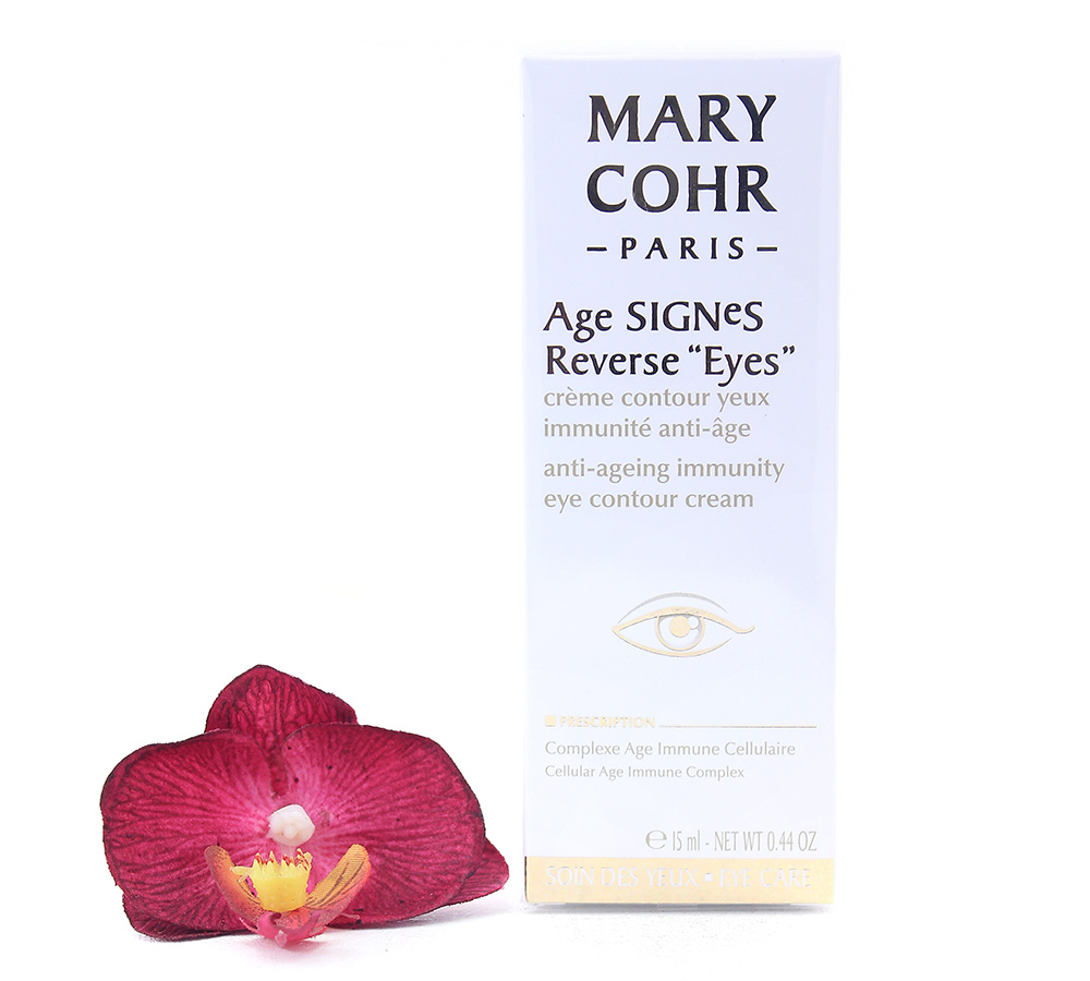 894590 Mary Cohr Age Signes Reverse Eyes - Anti-Ageing Immunity Eye Contour Cream 15ml