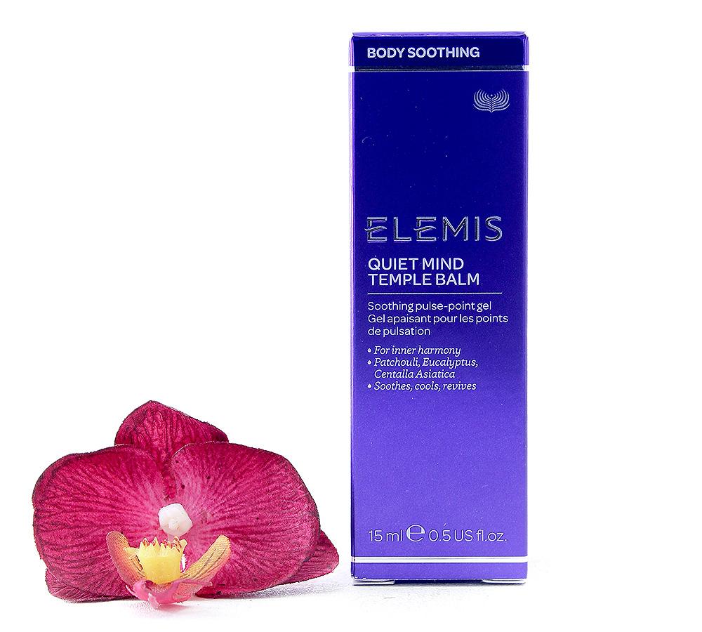 EL40401 Elemis Body Soothing - Quiet Mind Temple Balm 15ml