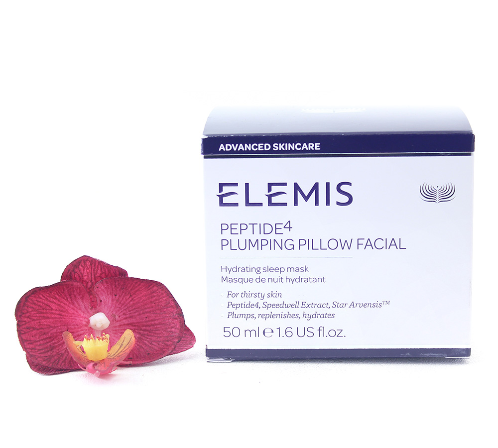 EL50178 Elemis Peptide4 Plumping Pillow Facial - Hydrating Sleep Mask 50ml