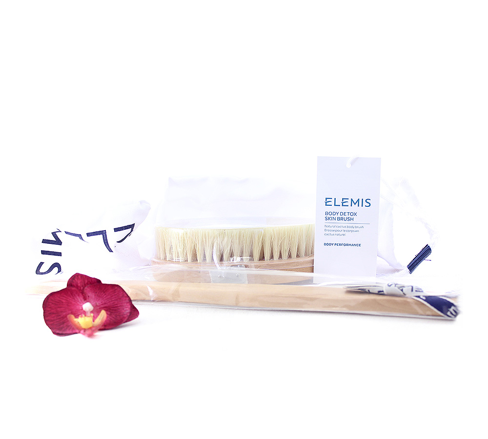 EL50451 Elemis Body Detox Skin Brush - Exfoliating body brush