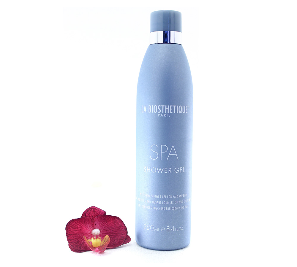 002232 La Biosthetique SPA - Refreshing Shower Gel For hair And Body 250ml