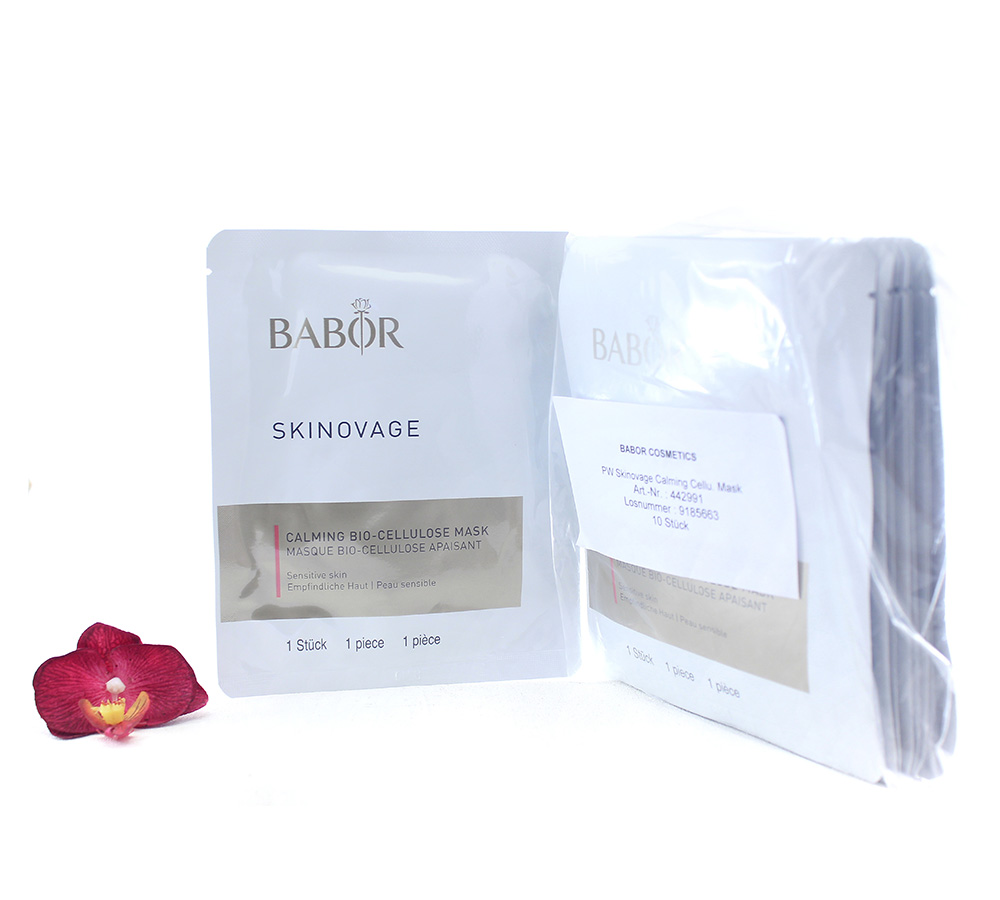 442991 Babor Skinovage Calming Bio-Cellulose Mask 10pcs