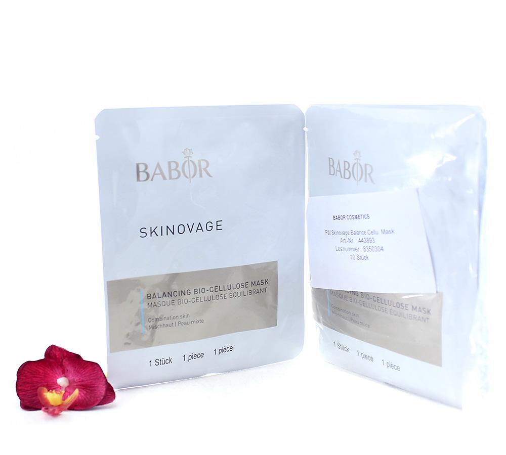 443893 Babor Skinovage Balancing Bio-Cellulose Mask 10pcs