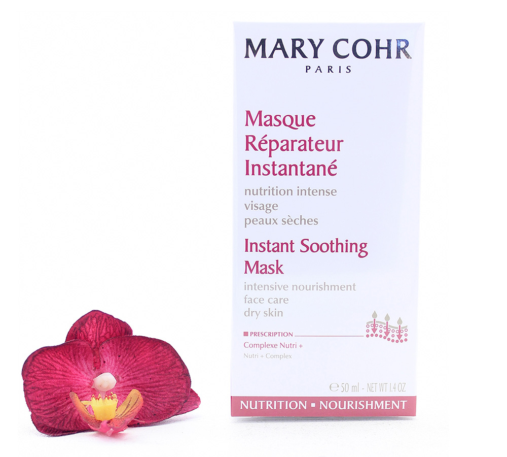 894520 Mary Cohr Instant Soothing Mask - Intensive Nourishment Face Care 50ml