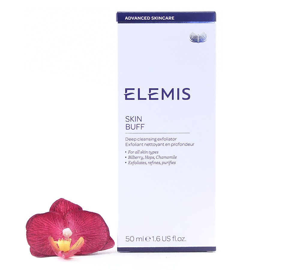 EL00255 Elemis Advanced Skincare Skin Buff - Deep Cleansing Exfoliator 50ml