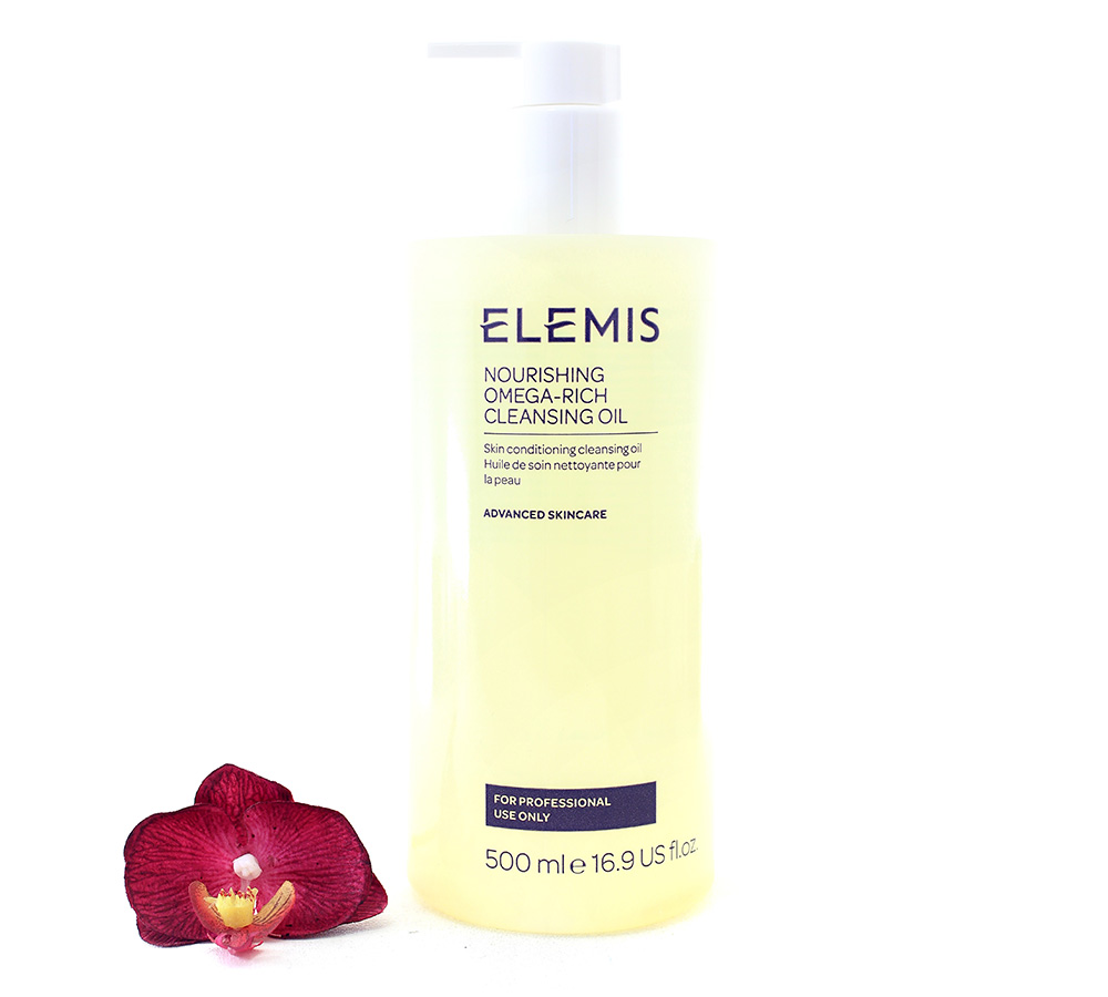 EL01179 Elemis Advanced Skincare - Nourishing Omega-Rich Cleansing Oil 500ml
