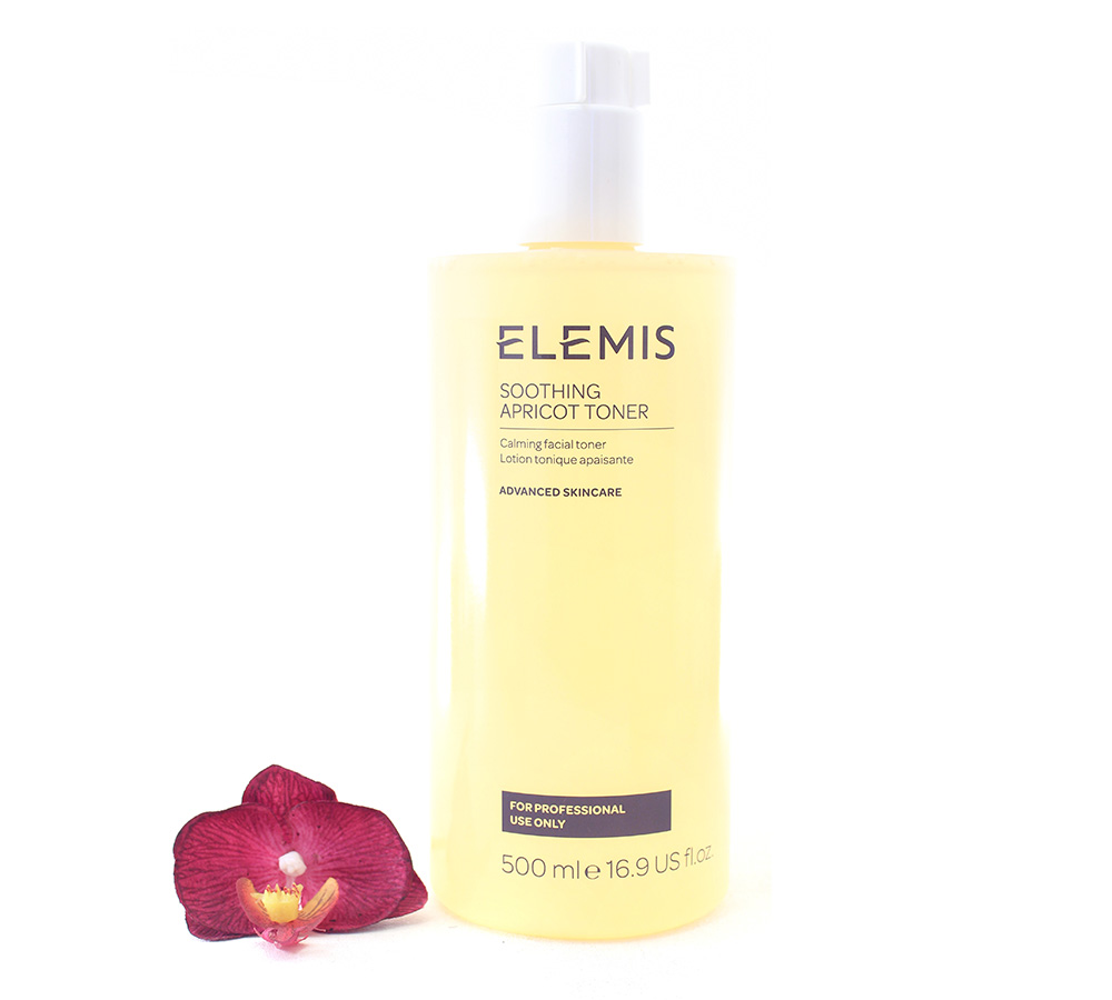 EL01224 Elemis Soothing Apricot Toner - Calming Facial Toner 500ml