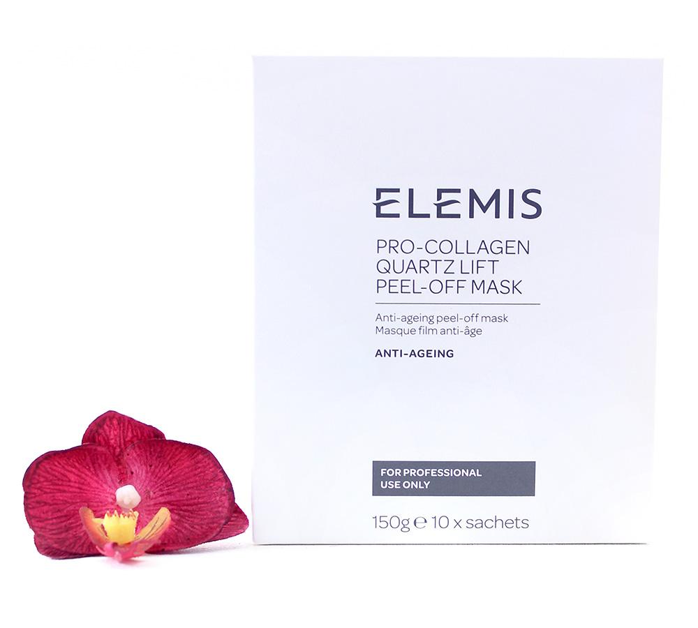 EL01247 Elemis Pro-Collagen Quartz Lift Peel Off Mask 10x15g