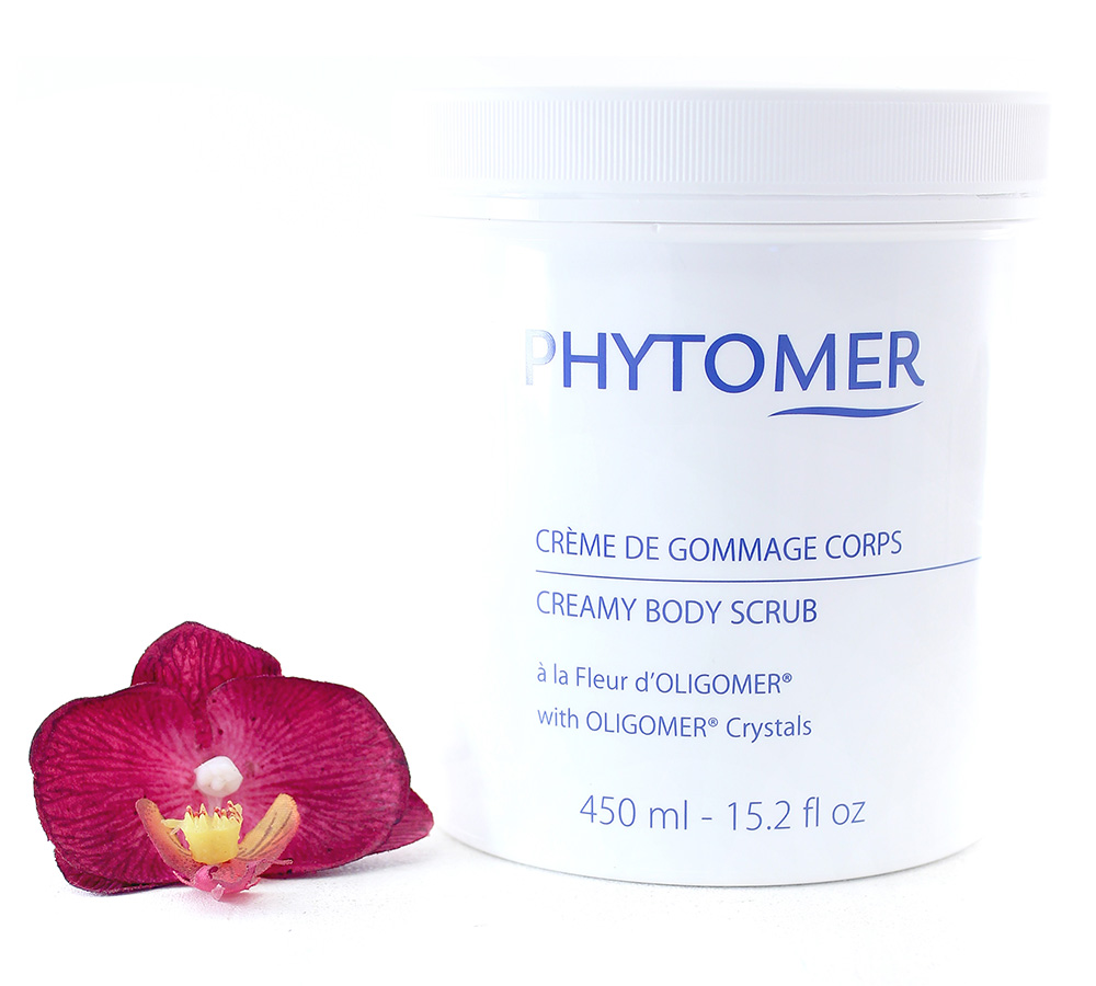 PFSCP184 Phytomer Creamy Body Scrub With Oligomer Crystals 450ml
