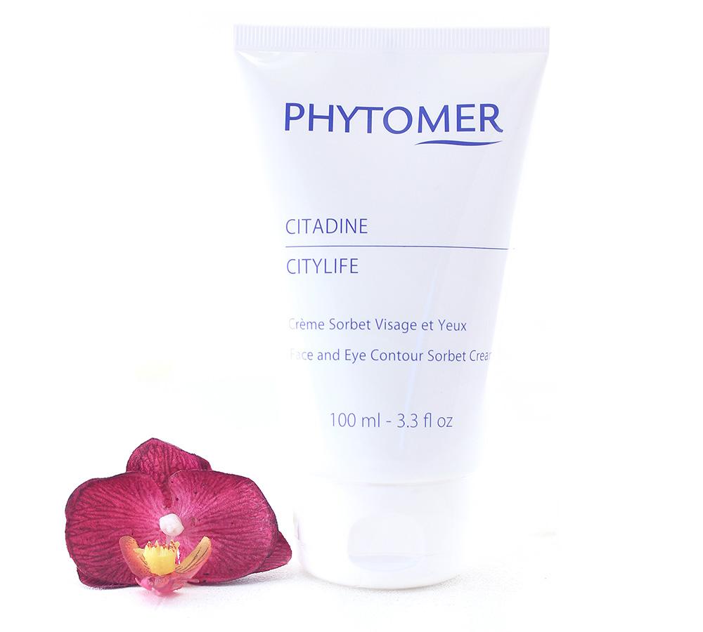 PFSVP139 Phytomer Citylife - Face And Eye Contour Sorbet Cream 100ml