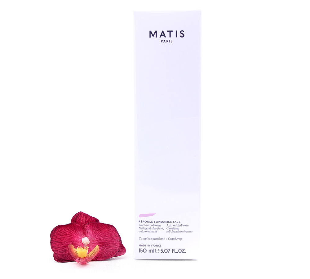 A0410031 Matis Reponse Fondamentale - Authentik-Foam Clarifying Self Foaming Cleanser 150ml