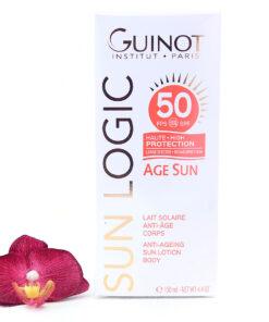 26515200-247x296 Guinot Sun Logic Age Sun SPF50 - Anti-Ageing Sun Body Lotion 150ml