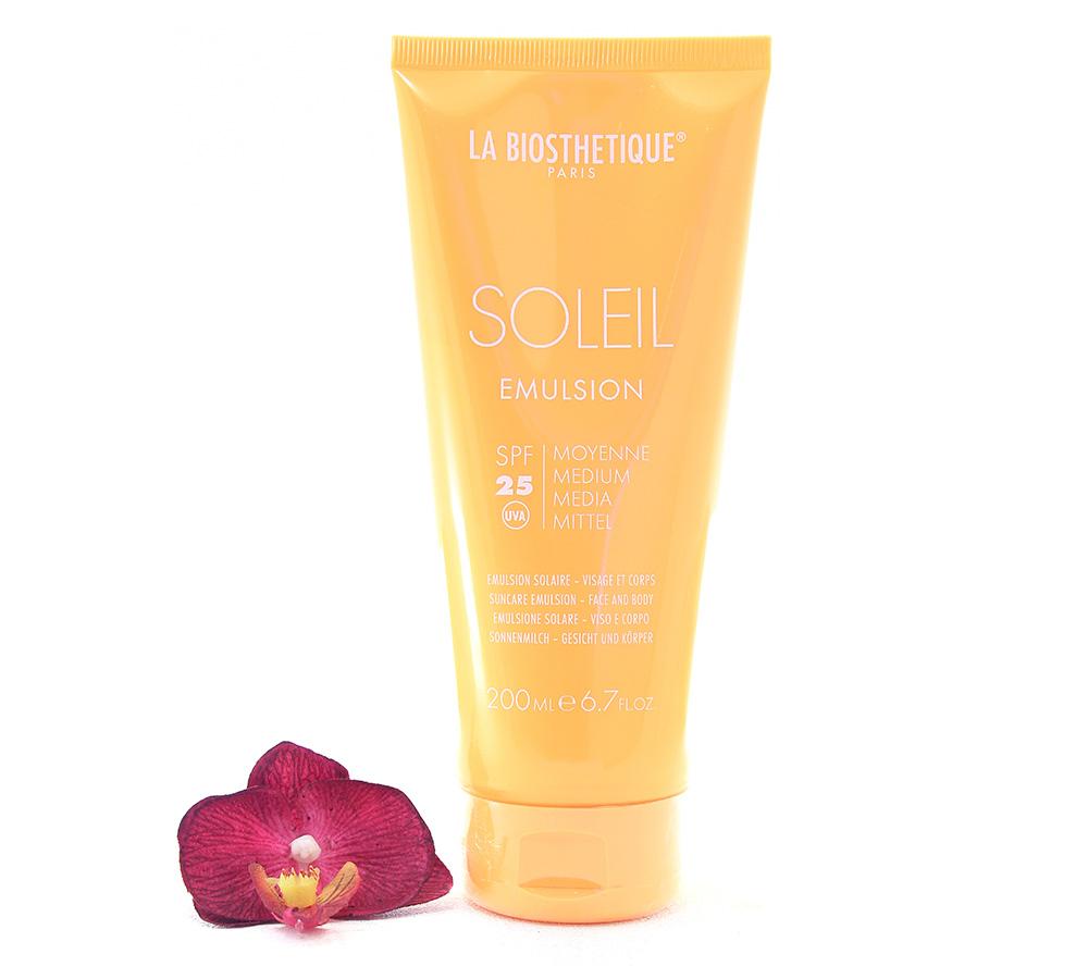 002800 La Biosthetique Soleil Emulsion SPF25 - Suncare Emulsion Face And Body 200ml
