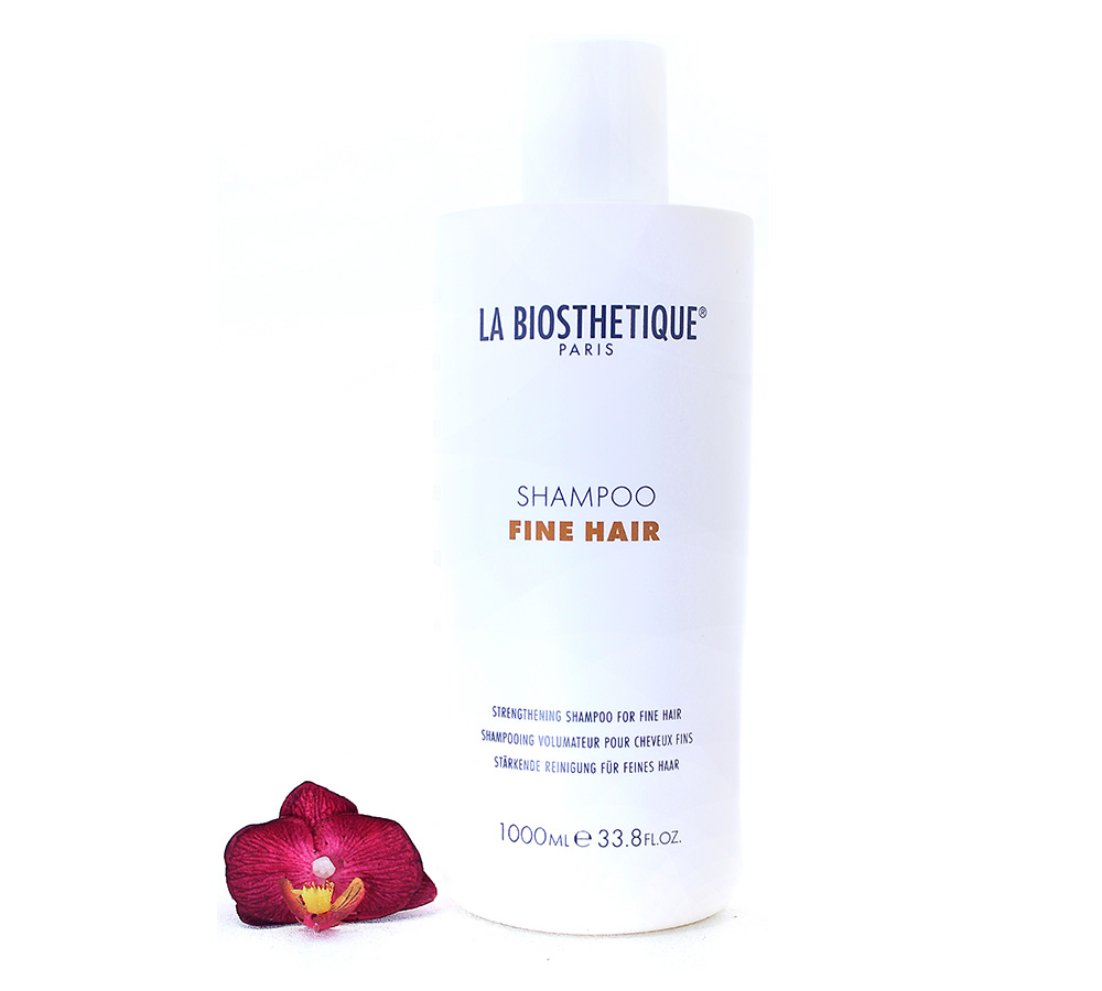 130503 La Biosthetique Shampoo Fine Hair - Strengthening Shampoo For Fine Hair 1000ml