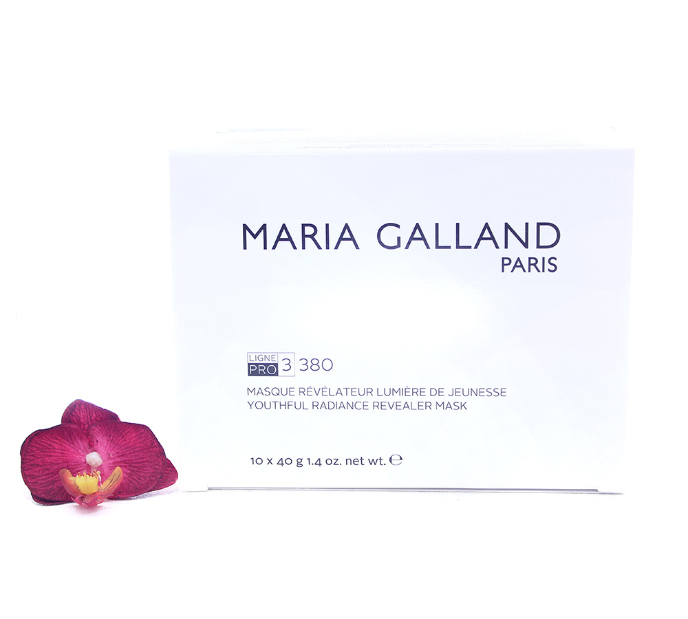 19002192 Maria Galland 3380 Youthful Radinace Revealer Mask 10x40g