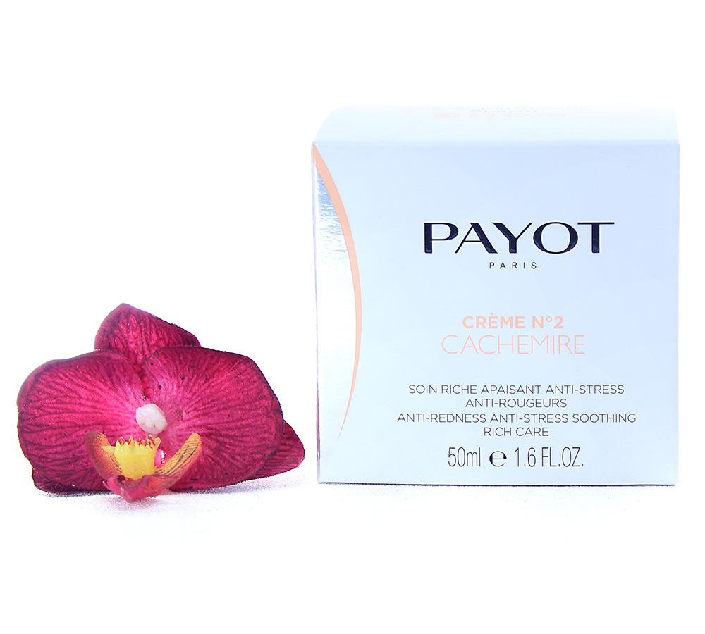 65116463 Payot Creme No2 Cachemire - Anti-Redness Anti-Stress Soothing Rich Care 50ml