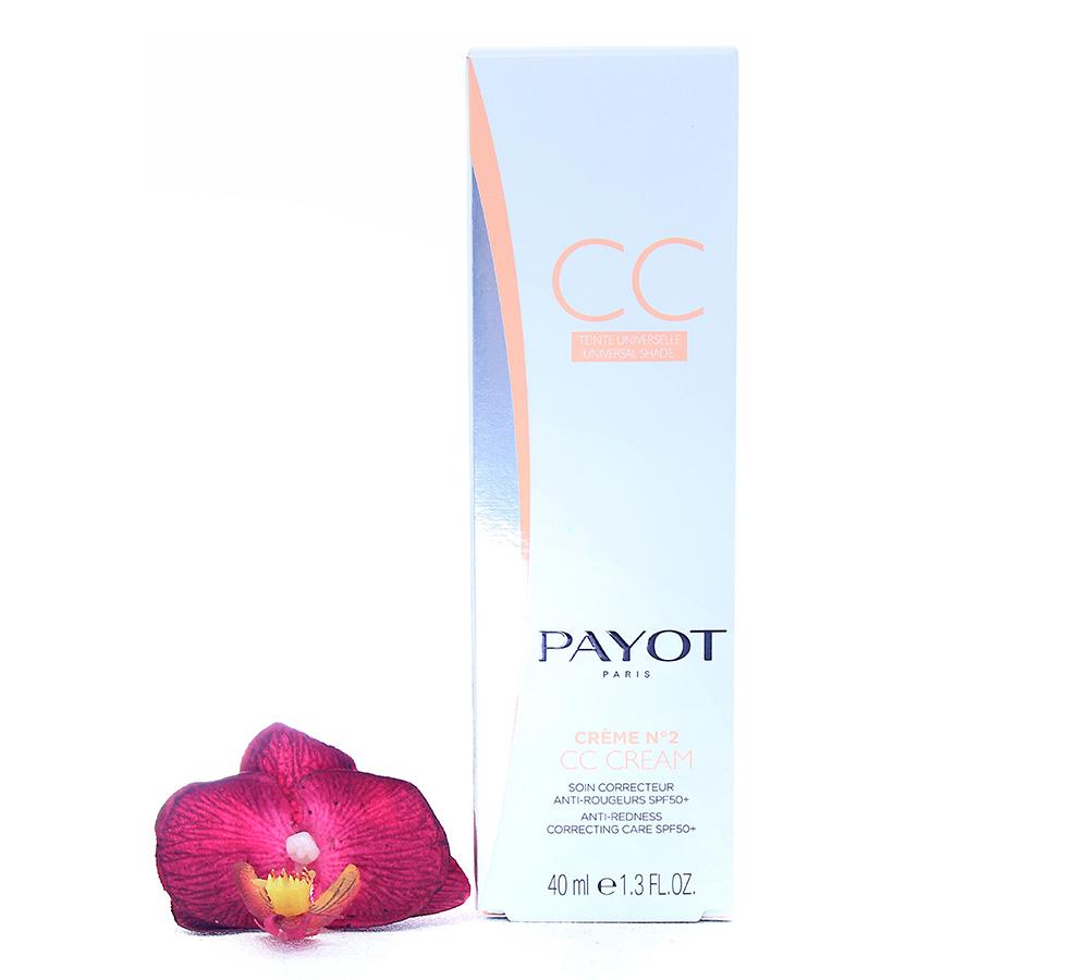 65116464 Payot Crème No2 CC Cream - Anti-Redness Correcting Care SPF50+ 40ml