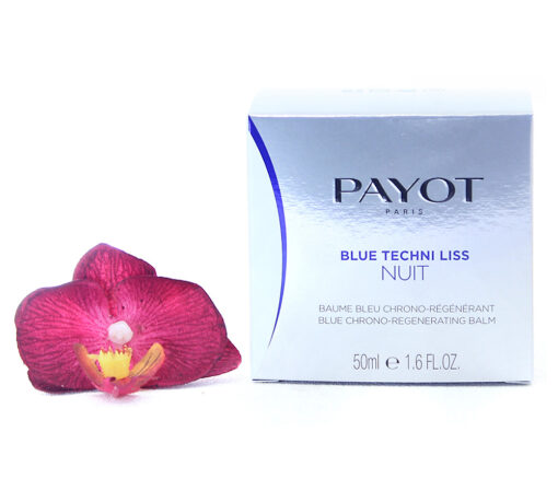 65116827-510x459 Payot Blue Techni Liss Nuit - Blue Chrono-Regenerating Balm 50ml