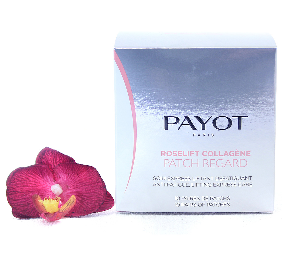 65117146 Payot Roselift Collagene Patch Regard - Anti-Fatigue Lifting Express Care 10pcs