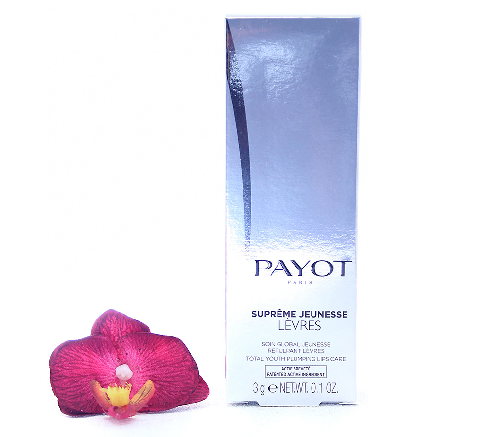 65117280 Payot Supreme Jeunesse Levres - Total Youth Plumping Lips Care 3g