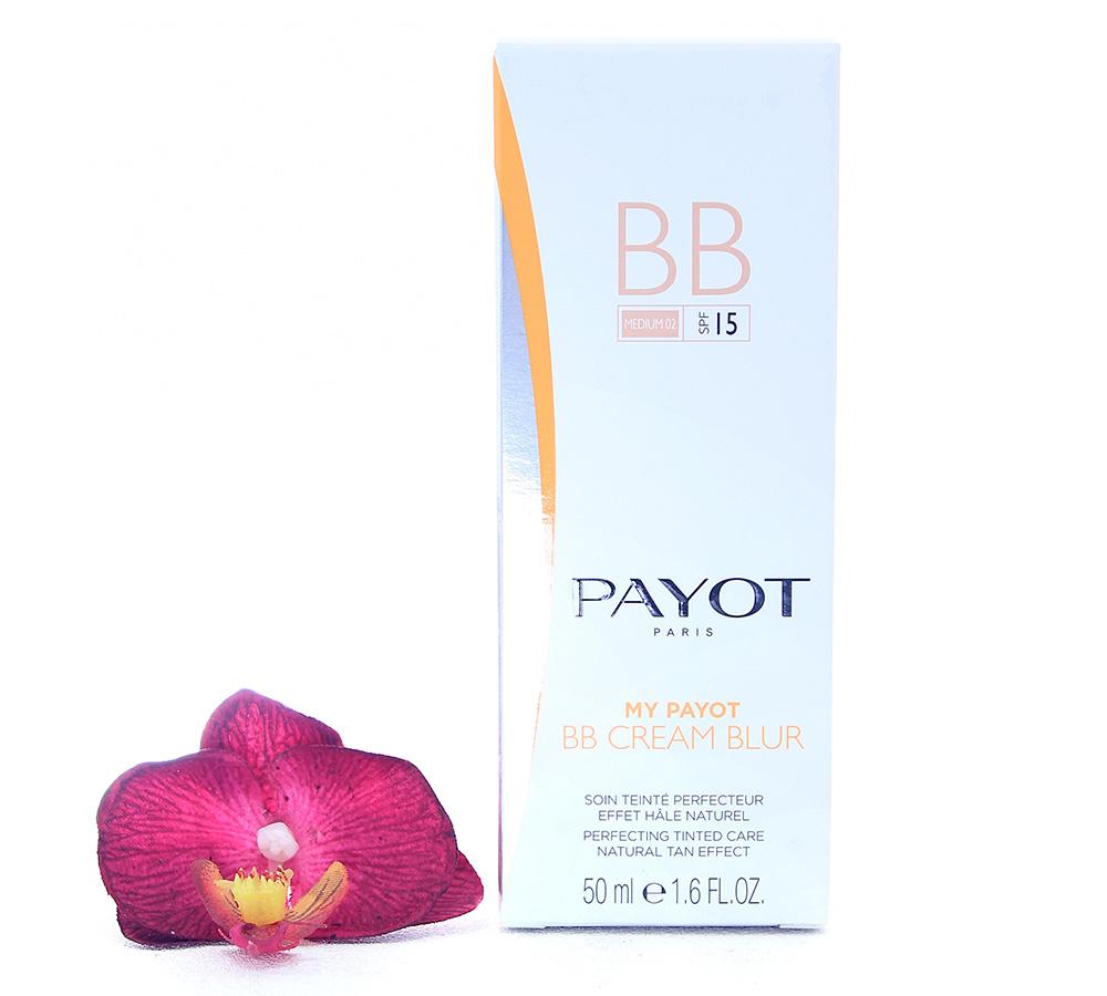 65117298 Payot My Payot BB Cream Blur Medium 02 LSF15 - Soin Teinte Perfecteur Effet Hale Naturel 50ml