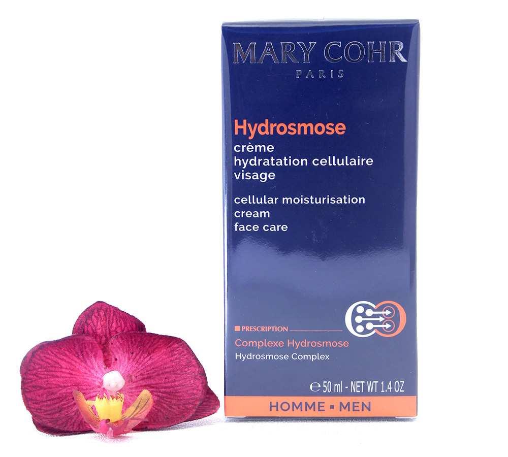 894530 Mary Cohr Men Hydrosmose - Cellular Moisturisation Face Cream 50ml