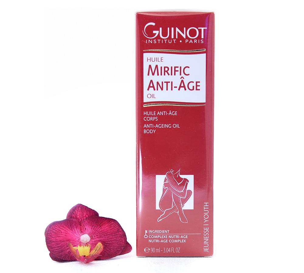 26528200 Guinot Mirific Anti-Age - Anti Ageing Body Oil 90ml