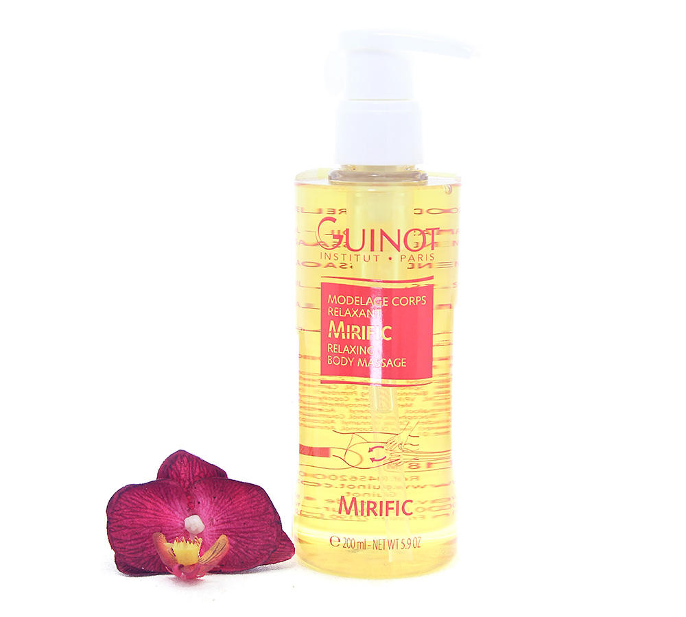 26556200 Guinot Mirific Relaxing Body Massage 200ml