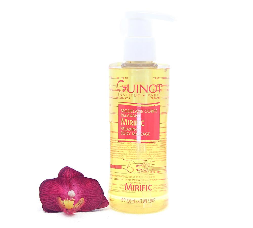 26556200 Guinot Mirific Relaxing Body Massage 200ml