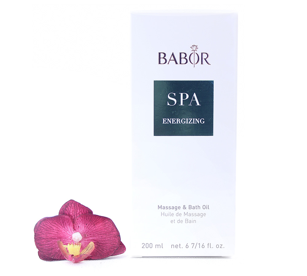 423750 Babor Energizing Massage & Bath Oil 200ml