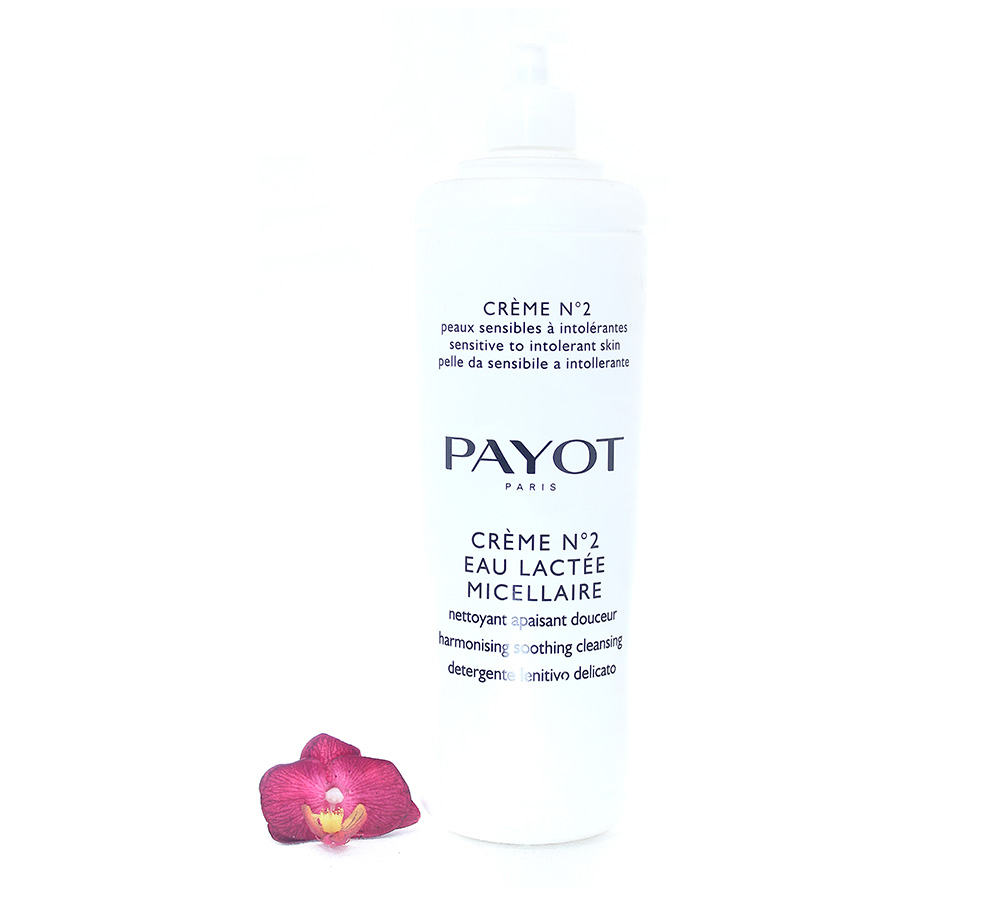 65116735 Payot Crème No2 Eau Lactee Micellaire - Harmonising Soothing Cleansing 1000ml