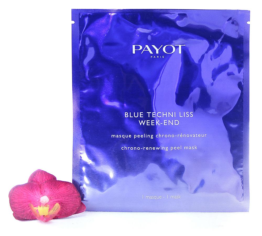 65116826 Payot Blue Techni Liss Week-End Chrono-Renewing Peel Mask 1pcs
