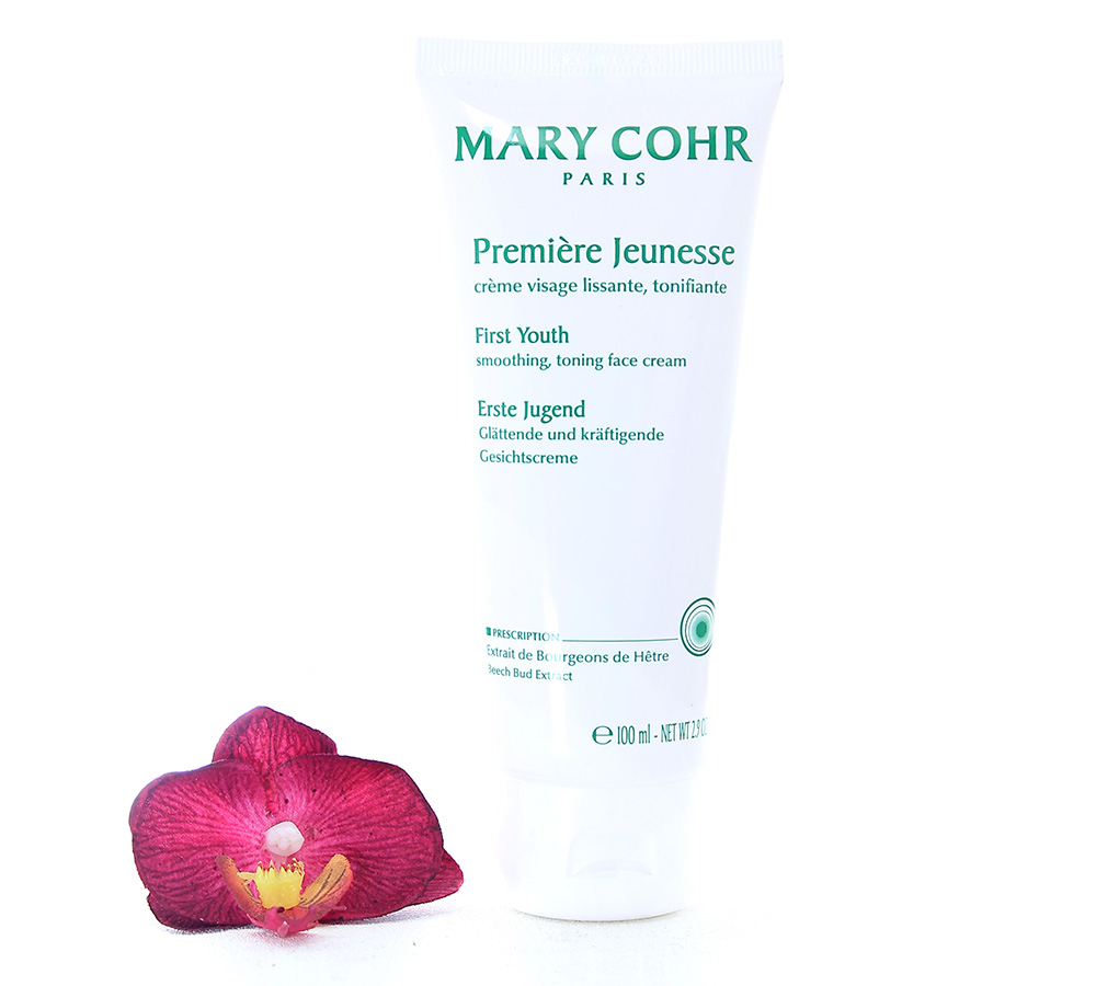 792513 Mary Cohr Premiere Jeunesse - First Youth Smoothing Toning Cream 100ml
