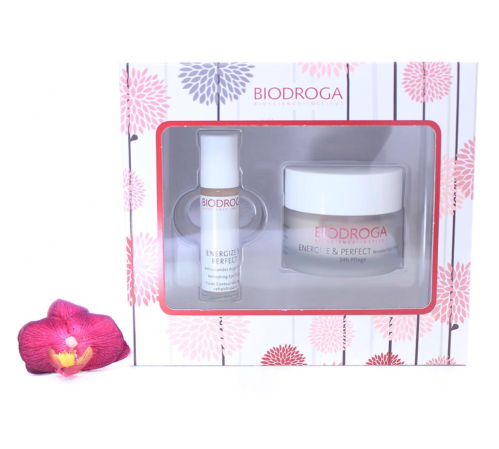 45760 Biodroga Energize & Perfect - Wrinkle Filler And Refreshing Eye Fluid Set